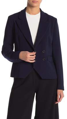Cupcakes And Cashmere Grecco Navy Blazer