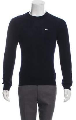 DSQUARED2 Rib Knit Wool Sweater
