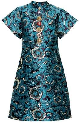 Dolce & Gabbana Floral-jacquard dress