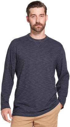Arrow Men's Classic-Fit Striped Mock-Layer Tee