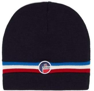 Fusalp - Wengen Ii Ribbed Wool Hat - Mens - Navy