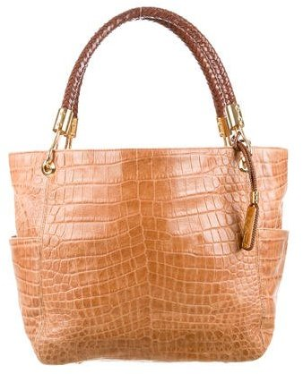 MICHAEL Michael Kors Michael Kors Embossed Leather Tote