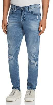 PRPS Goods & Co. Rip and Repair Skinny Fit Jeans in Indigo