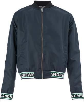 Andrea Crews shell bomber jacket