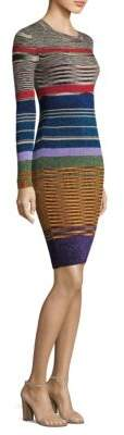 Missoni Knit Metallic Knee-Length Dress