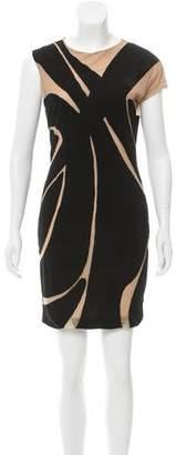 Yigal Azrouel Colorblock Mini Dress