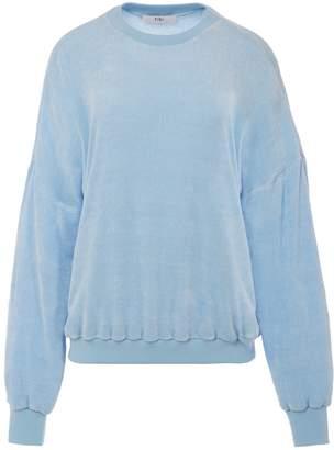 Tibi Viscose Chenille Sweatshirt