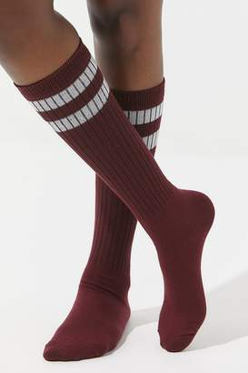 Out From Under Varsity Striped Knee Sock