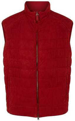 Brioni Leather Gilet
