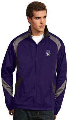 Antigua Men's Northwestern Wildcats Tempest Desert Dry Xtra-Lite Performance Jacket