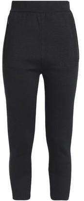 adidas Mesh-Paneled Stretch-Jersey Leggings
