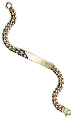 Foundrae Star Cuban Id Bracelet