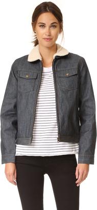 A.P.C. Bonnie Jacket $385 thestylecure.com
