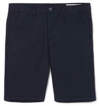 Rag & Bone Standard Issue Cotton-Twill Shorts - Navy