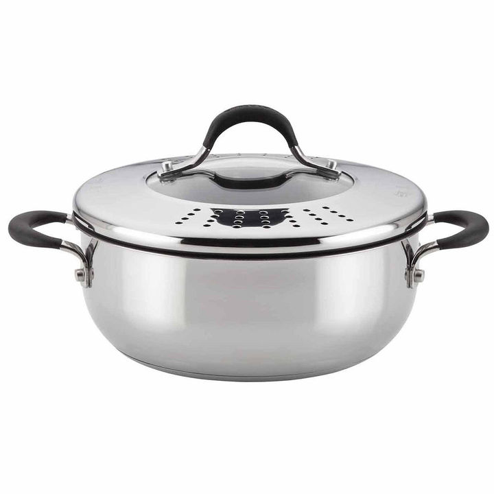 Circulon Circulon 4-qt. Stainless Steel Cooking Domes