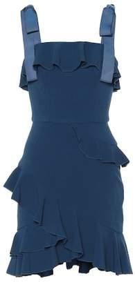 Rebecca Vallance Aegean crêpe minidress