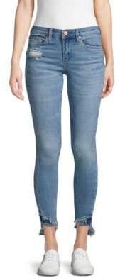 Blank NYC Step-Hem Cropped Skinny Jeans