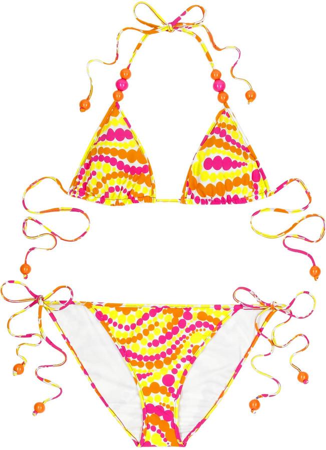 Milly Paisley Dot print bikini
