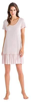 Hanro Women's Malva Short Sleeve Gown