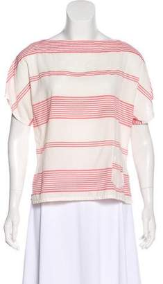 Band Of Outsiders Short Sleeve Knit Top