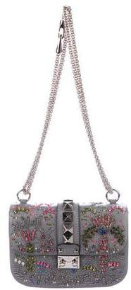 Valentino Embellished Glam Rock Bag w/ Tags