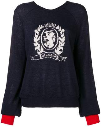Tommy Hilfiger logo knit sweater