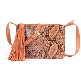 La Redoute Collections Little Leather Bag in Snakeskin Effect