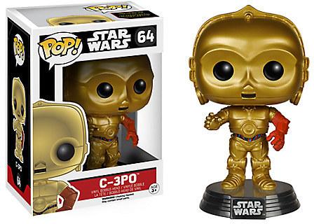 C-3PO Pop! Vinyl Bobble-Head Figure by Funko - Star Wars: The Force Awakens