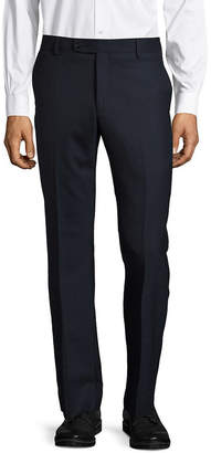 Saks Fifth Avenue Textured Wool-Blend Pant