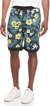 N. Brooklyn Cloth Floral Drawstring Shorts