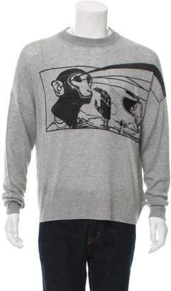 Prada Cashmere Intarsia Sweater