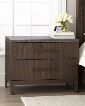 Hooker Furniture Liesel Stone-Top Night Stand