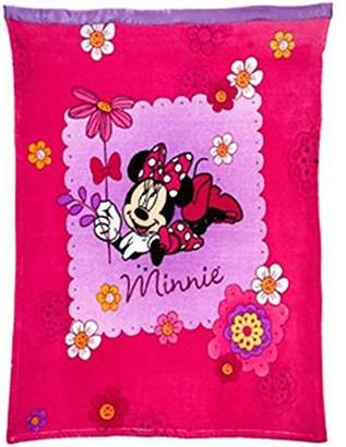 Disney Minnie Mouse Toddler/Baby Blanket by Crown Crafts