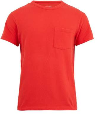 American Vintage Patch-pocket cotton-blend T-shirt
