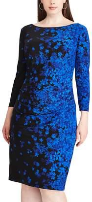 Chaps Plus Size Jersey Sheath Dress