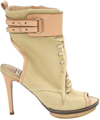 By Malene Birger Khaki Cloth Ankle boots