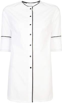 Yigal Azrouel button-front collarless shirt