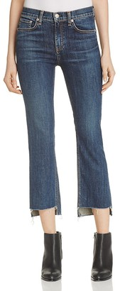 rag & bone/JEAN High Rise Stove Pipe Jeans in Ryan $250 thestylecure.com