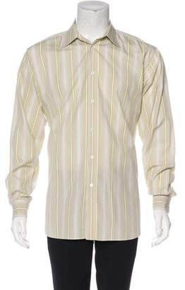 Hermes Striped Dress Shirt