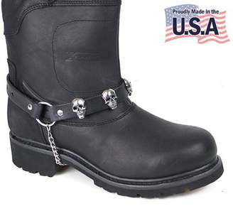 Biker Accessories Motorcycle Skull Boot Chain