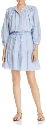 Joie Adel Swiss-Dot Shirt Dress