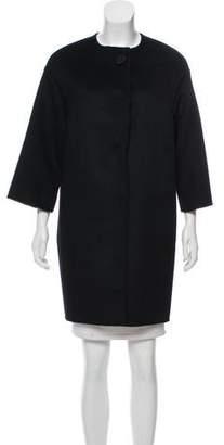 Prada Wool-Blend Coat