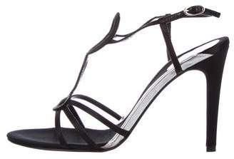 Azzaro Satin Ankle-Strap Sandals