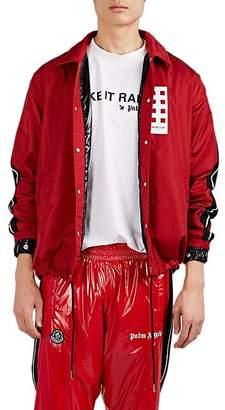 Palm Angels 8 MONCLER Men's Tangsi Striped Jacket - Red