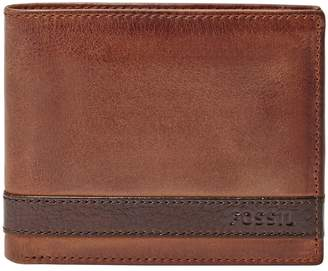 Fossil Quinn ID Bifold Leather Wallet