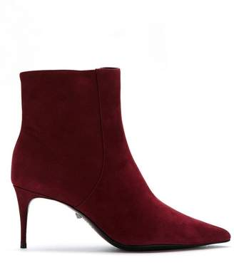 Schutz S2006700280003 Rubi Wine Leather/Fur/Exotic Skins->Leather