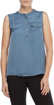 Vince Camuto Sleeveless Pocket Top