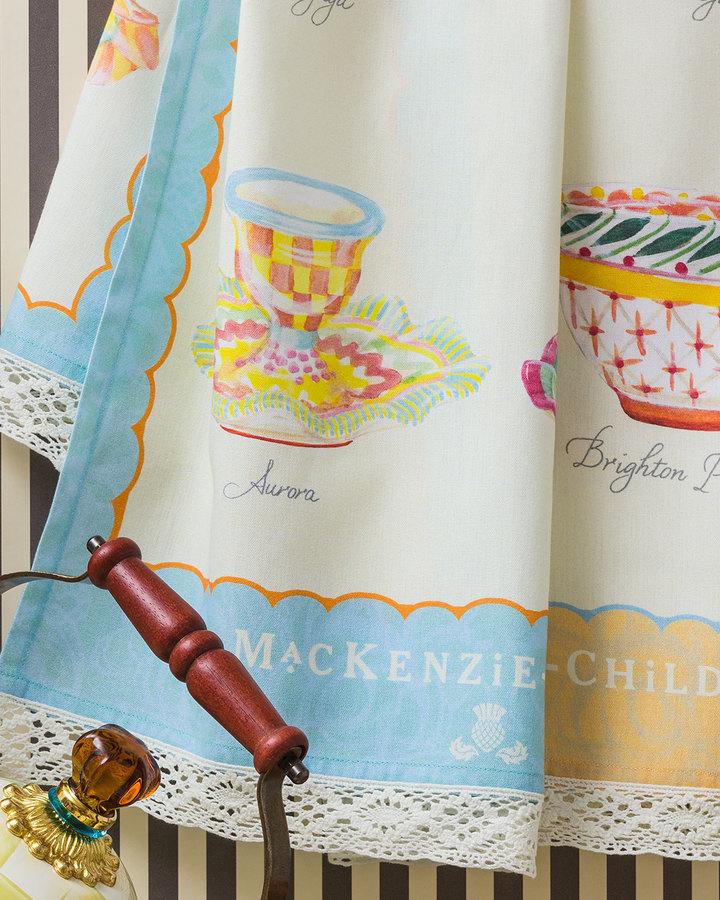 MacKenzie-Childs You're A Good Egg Tea Towel