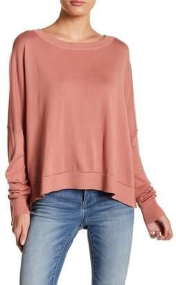 Elan International Boatneck Long Sleeve Sweater