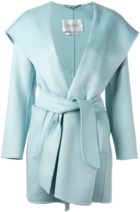 Max MaraMax Mara wide lapel belted coat